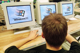 Microsoft вернулась на 17 лет назад