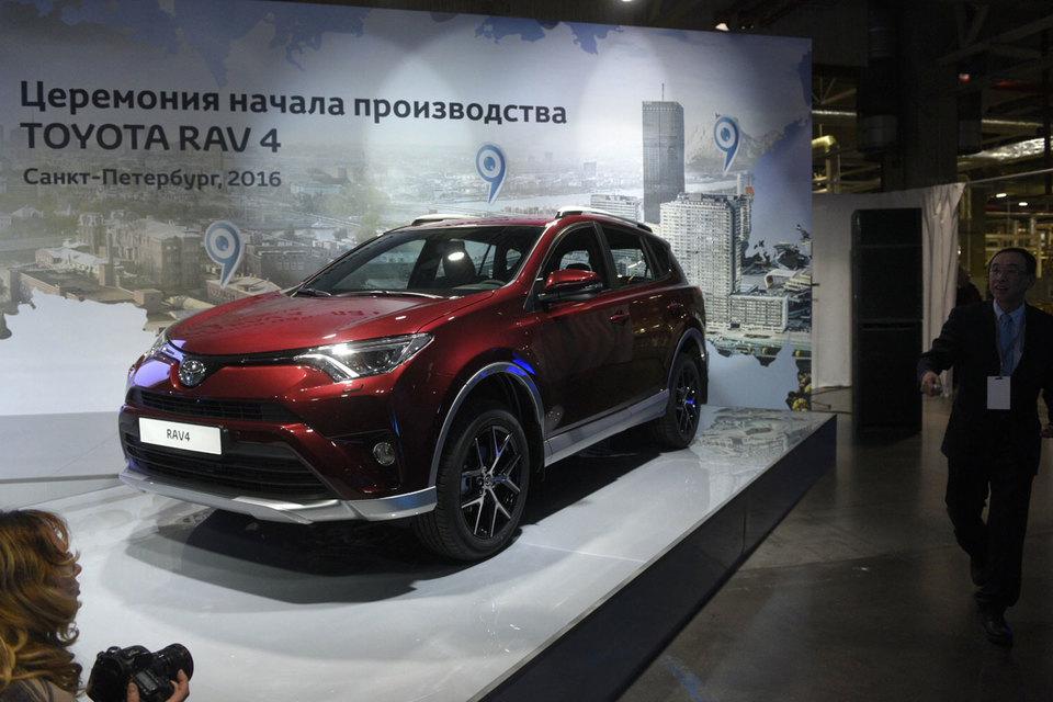 В северной столице стартовало производство Тойота RAV4