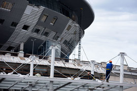 Бывший подрядчик стадиона судится с нынешним