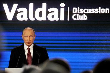 Валдайские выступления Владимира Путина все меньше похожи на дискуссию