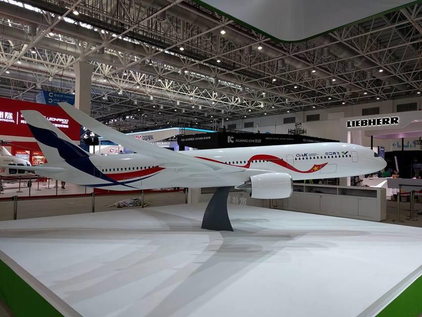 Российско-китайский широкофюзеляжный самолет будут собирать вШанхае