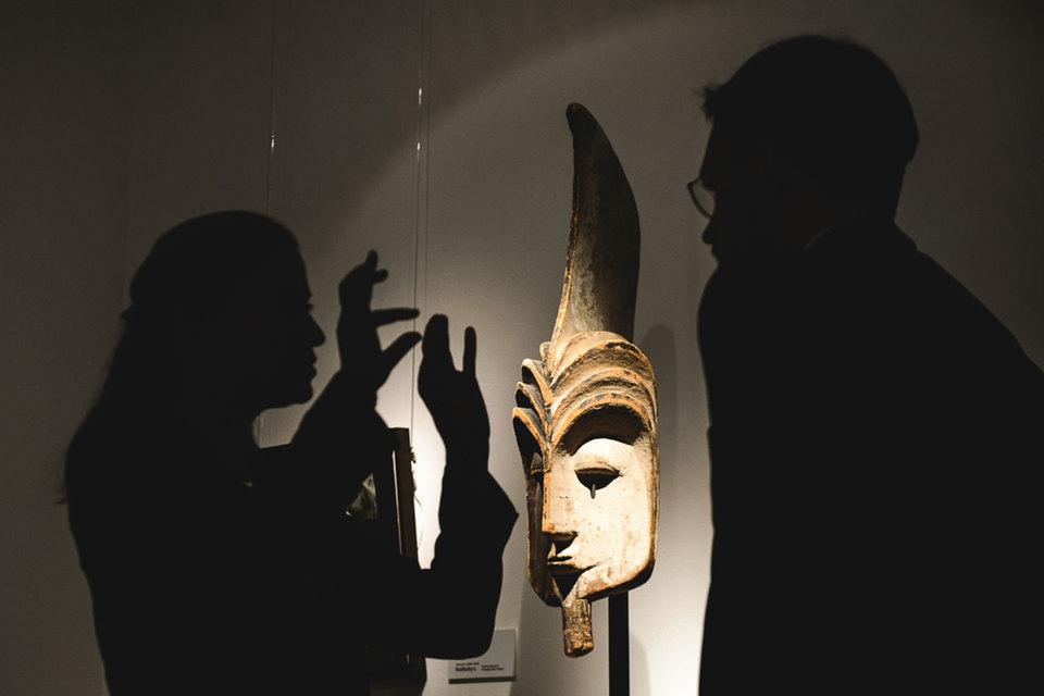 Выставка картин, которые будут проданы налондонских торгах «Сотбис», проходит в столице