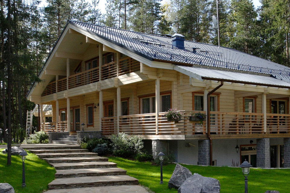 АФК «Система» желает приобрести финского производителя деревянных домов Honkarakenne