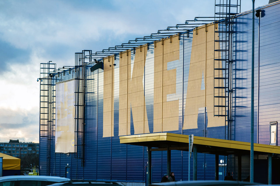 IKEA построит третий магазин под Петербургом к 2019г.
