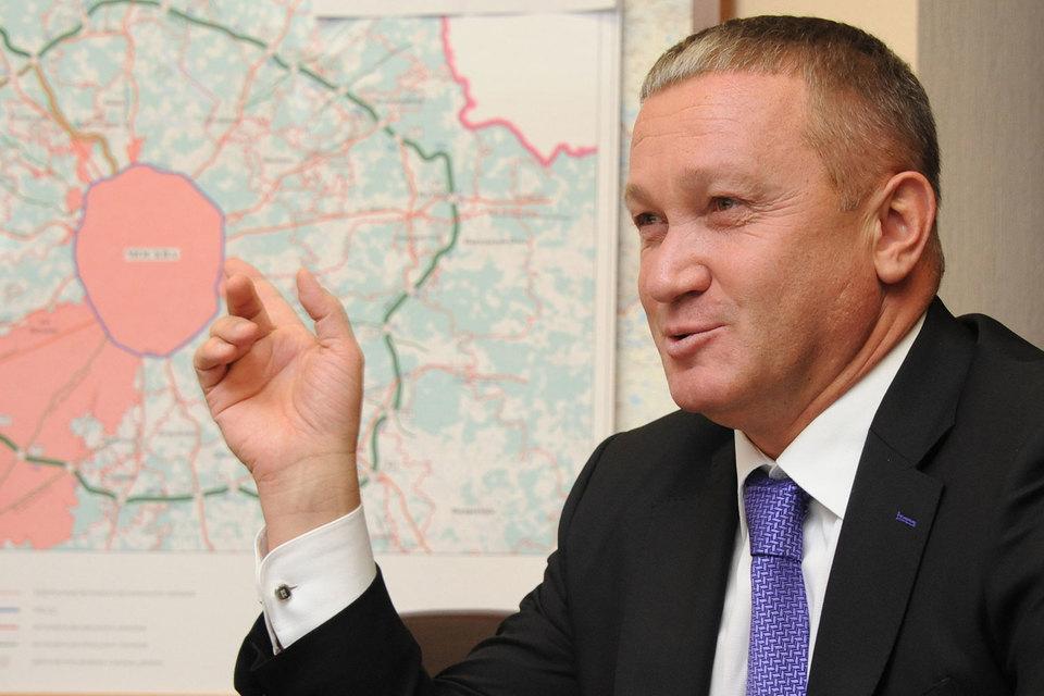 Зампредседателя правительства Московской области Герман Елянюшкин