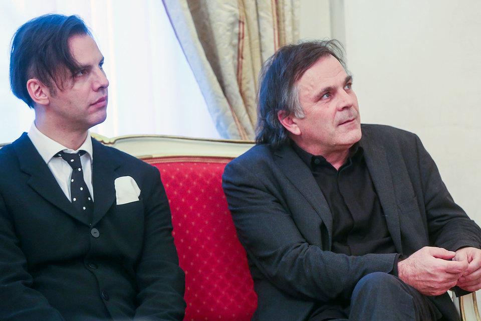 Дирижер Теодор Курентзис (слева) и пианист Маркус Хинтерхойзер понимают друг друга как люди искусства