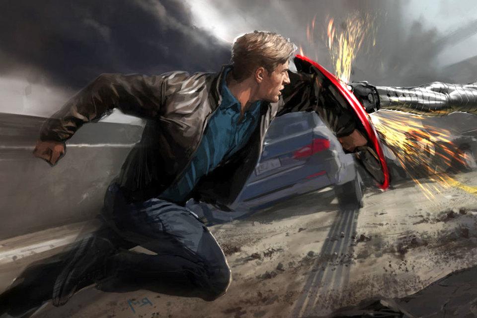 Футуристические автомобильные «фишки» из фильма «Первый мститель: Другая война» (на фото) уже находят воплощение в реальности