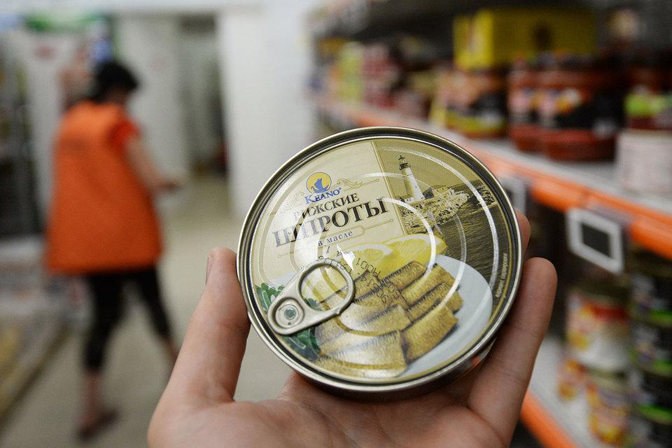 Прибалтийские шпроты могут вернутся в Россию после Нового года