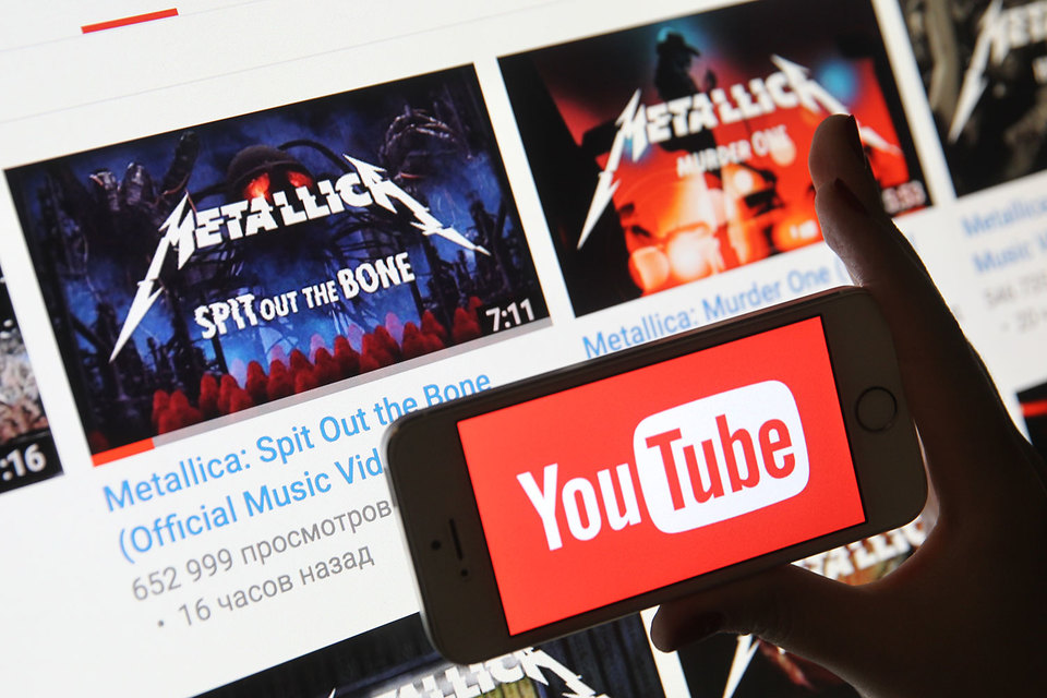 Metallica выложила свой новый альбом на Youtube