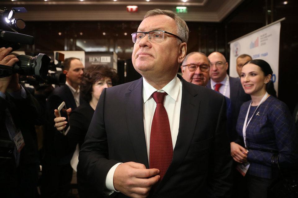 По словам Костина, новая трехлетняя стратегия ВТБ будет учитывать соответствующие экономические прогнозы правительства и ЦБ на этот период