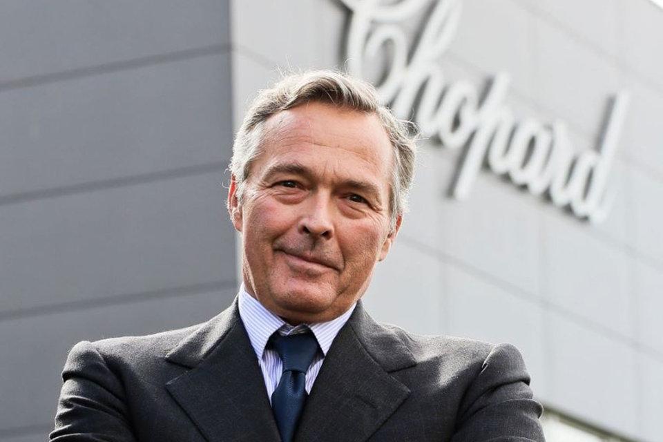 Cопрезидент Chopard Карл-Фридрих Шойфеле