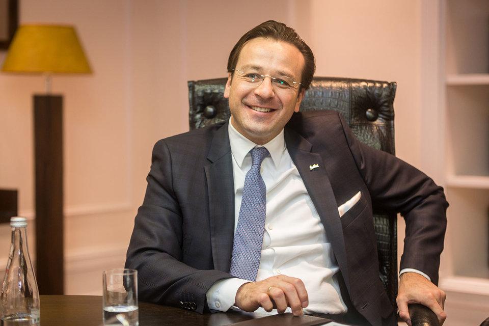 Штефан Кюр стал генеральным менеджером отеля «Рэдиссон Ройал, Москва» в 2014 г.