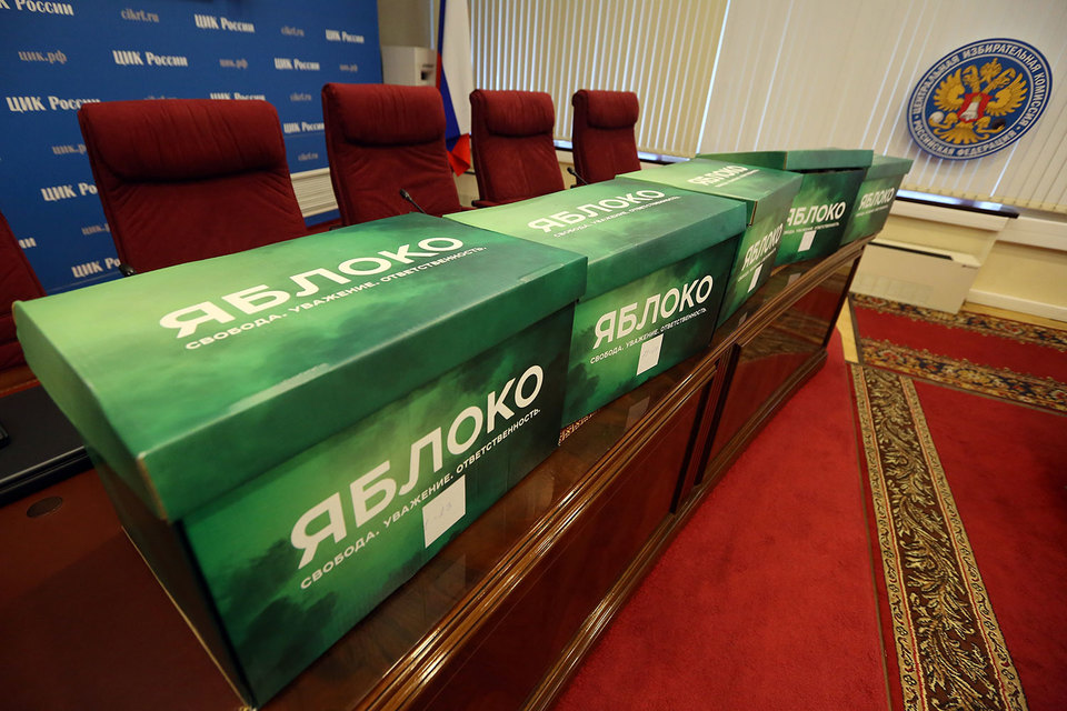 «Яблоко» считает, что нарушений на выборах в Госдуму было больше, чем сообщений о них