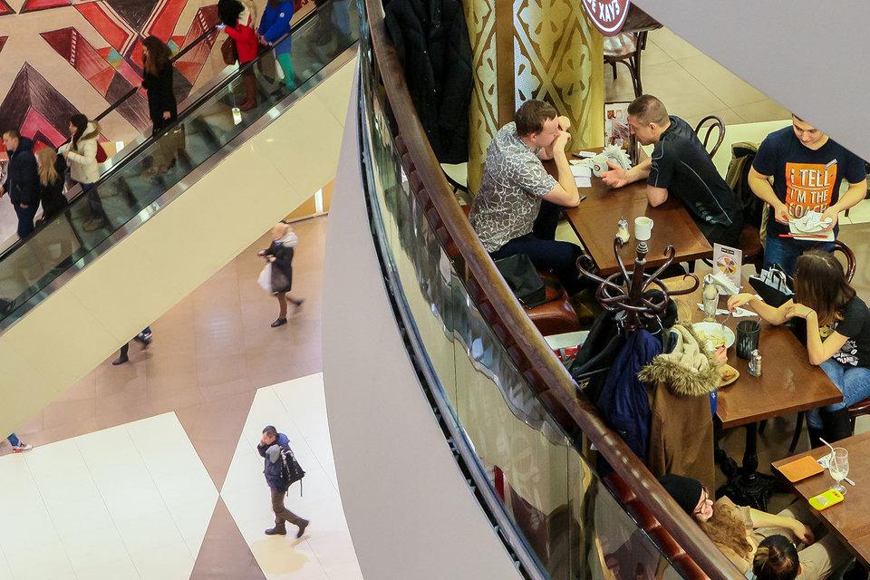 Торговые центры обеспечивают операторам общепита поток посетителей