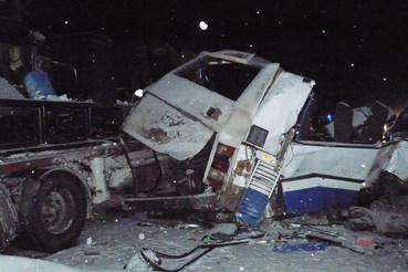 Авария произошла на трассе Тюмень – Ханты-Мансийск