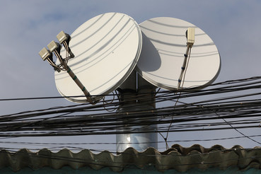Спутниковый интернет пока используется в основном там, где ему нет альтернативы