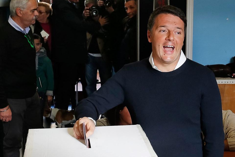 Итальянцы проголосовали против реформы конституции
