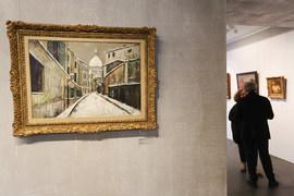 Парижский пейзаж Утрилло – один из лучших на выставке