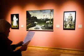Картины Нико Пиросмани – главная часть выставки