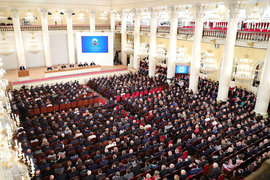 Всероссийский съезд судей поставил перед судебной системой страны задачи стоимостью 50 млрд руб.