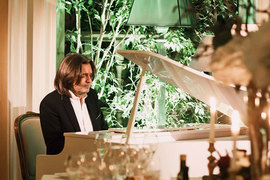 Дмитрий Маликов на вечере в ресторане Buono