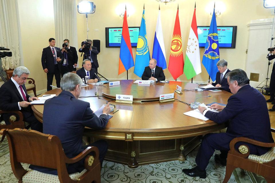 ОДКБ несмогла выбрать нового генерального секретаря из-за отсутствия Лукашенко