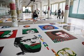 Вэйвэй заказывал детали для выставки, на которой были представлены портреты известных политических диссидентов