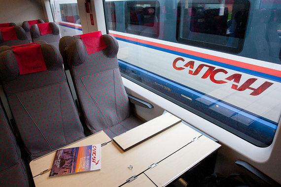 Пассажиры «Сапсана» съедают 17000 рационов питания в месяц