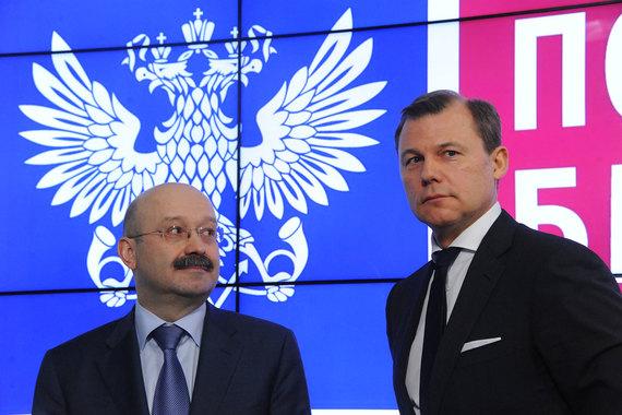 Дмитрий Страшнов (справа) и Михаил Задорнов