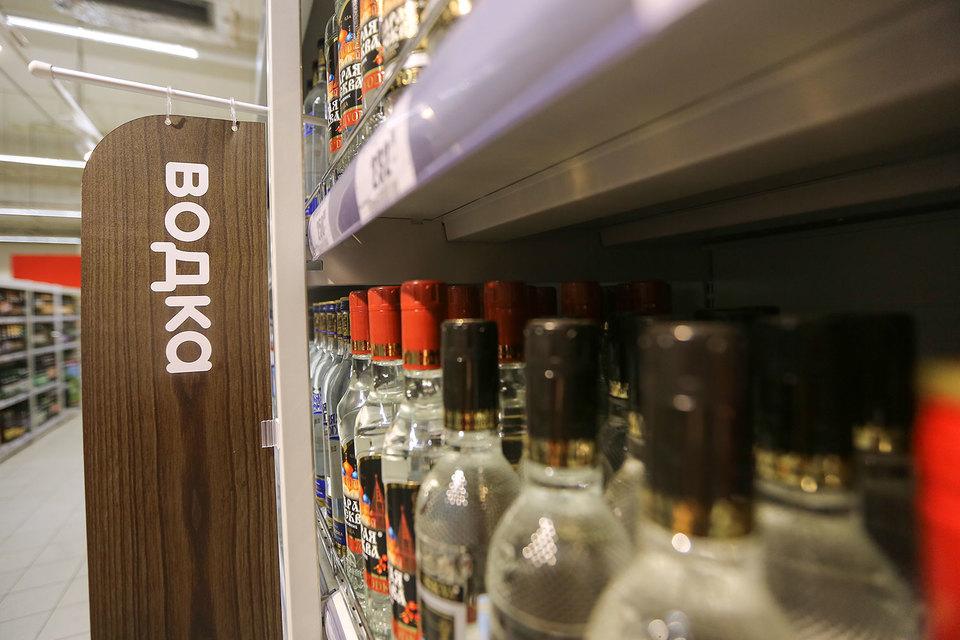 Минимальная розничная цена (МРЦ) на водку может быть повышена со 185 до 190 руб. за бутылку 0,5 л