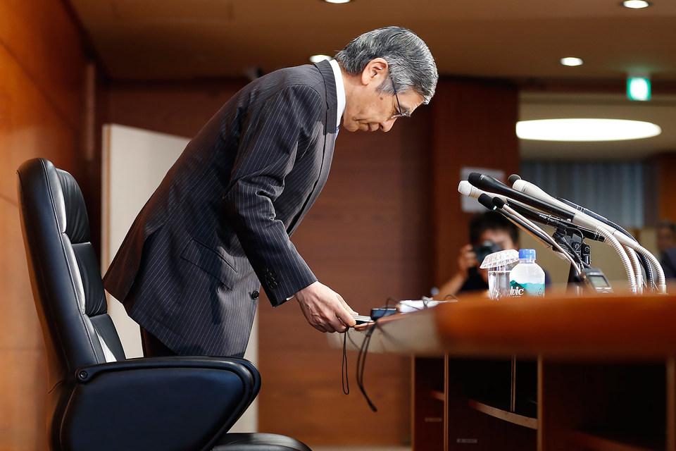Председатель ЦБ Японии Харухико Курода