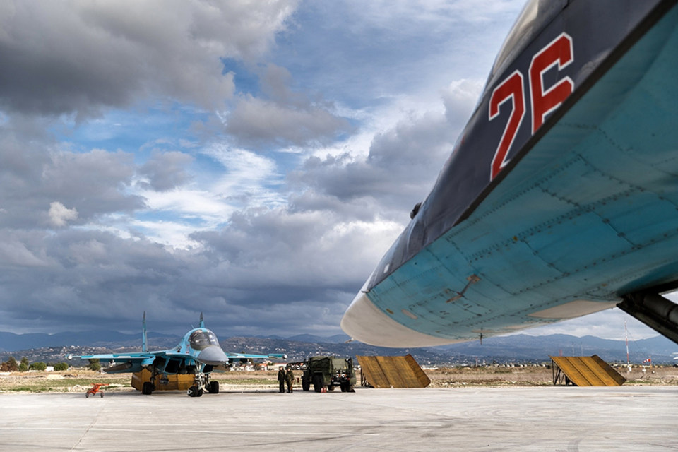МИД Турции утверждает, что Су-34 нарушил воздушное пространство страны в пятницу, 29 января