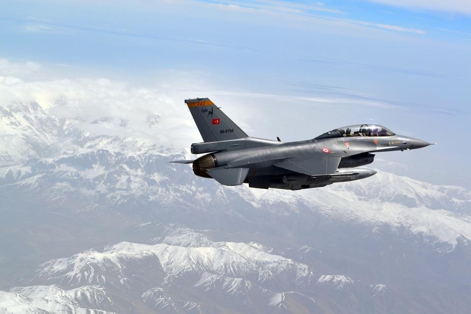 Командование ВВС Турции объявило оранжевый уровень тревоги