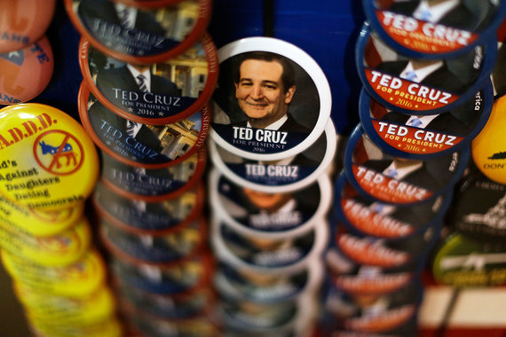За Теда Круза отдают голоса правые среди республиканцев