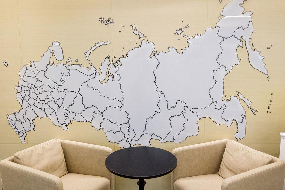 ВГосреестре неоказалось сведений о93% границ между регионами