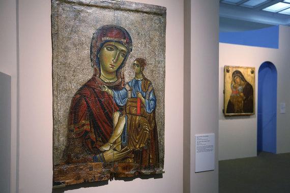Третьяковская галерея показывает 12 византийских икон