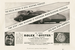 Реклама из журнала Punch, приветствующая мировой рекорд сэра Малькольма  Кэмпбелла, установленный 4 сентября 1935 г.: впервые человек  в автомобиле превысил скорость 300 миль в час. Гонщик был в часах Rolex  Oyster