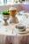 Лиможский фарфор Coquet, хрусталь Saint-Louis (Bubbles), скатерть Valombreuse, резиденция посла Франции в Москве