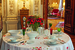 Хрусталь Saint-Louis (Bubbles), скатерть Valombreuse, резиденция посла Франции в Москве