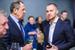 Министр иностранных дел России Сергей Лавров и президент инвестподразделения «Альфа-групп», компании А1 Александр Винокуров