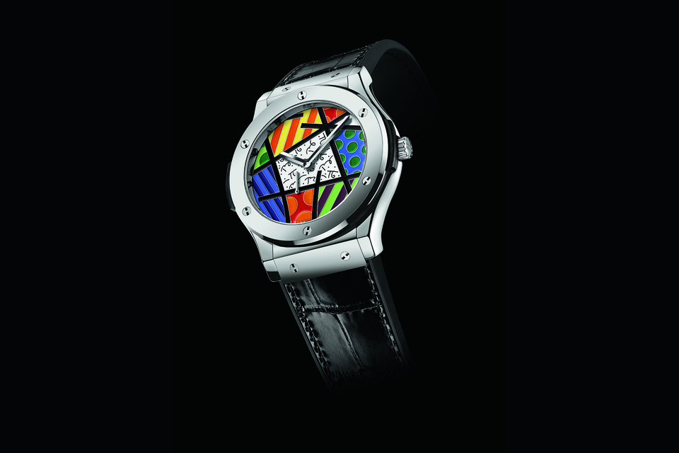 Часы Hublot Classic Fusion Enamel Britto