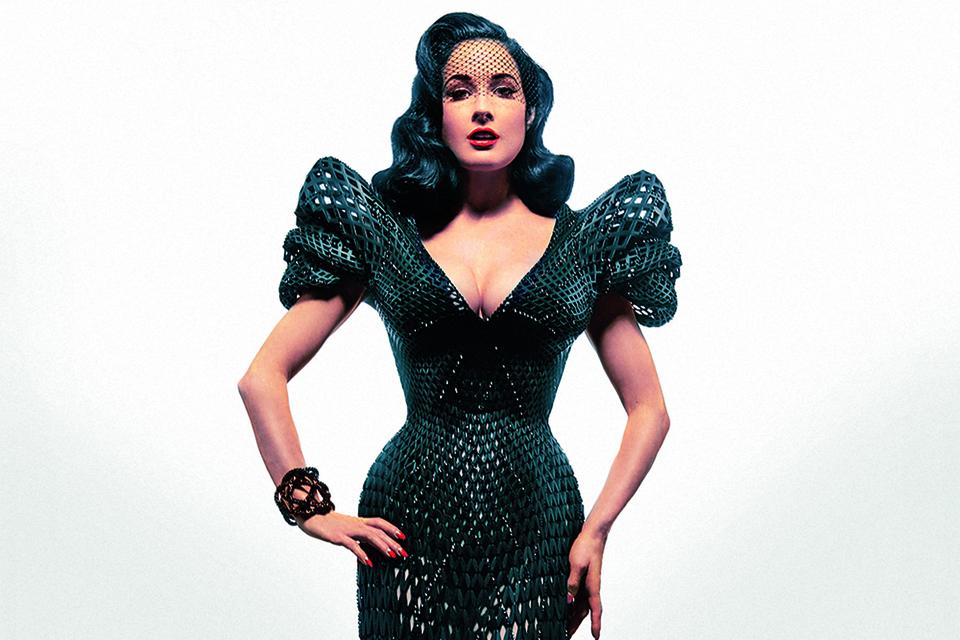 Дита фон Тиз в 3D-платье
