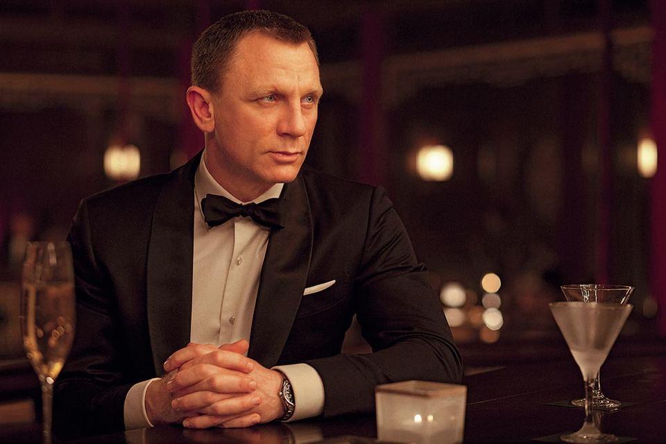 Дэниел Крейг в роли агента 007