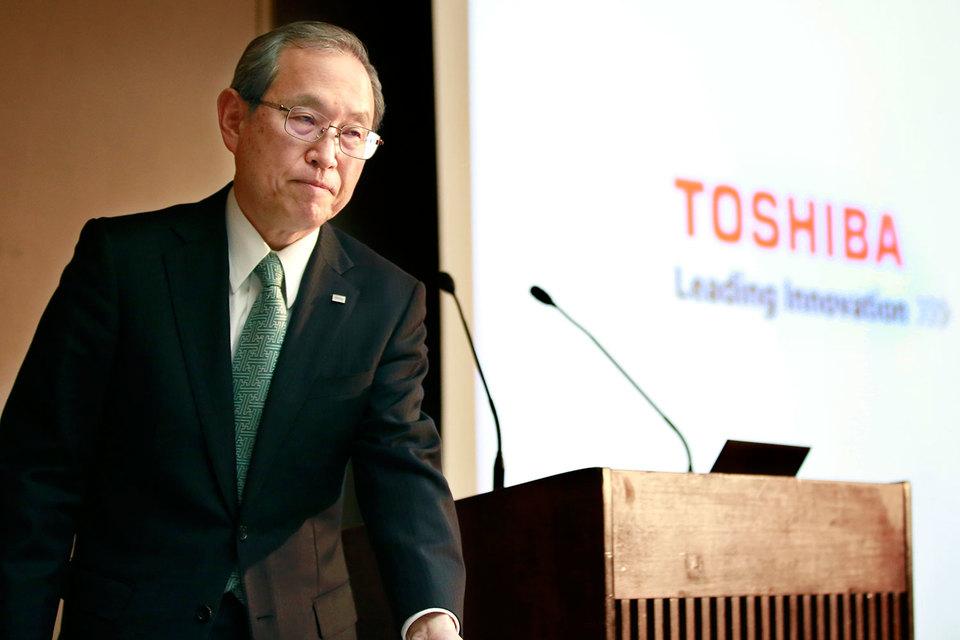 Руководитель Toshiba хочет уйти вотставку из-за высоких убытков