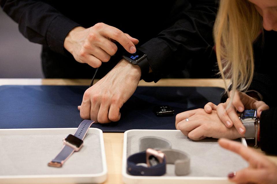 Продажи носимой электроники в РФ  увеличились  на42%