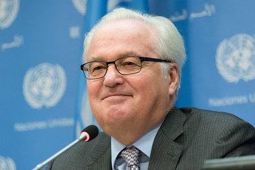 Постоянный представитель Российской Федерации при ООН Виталий Чуркин