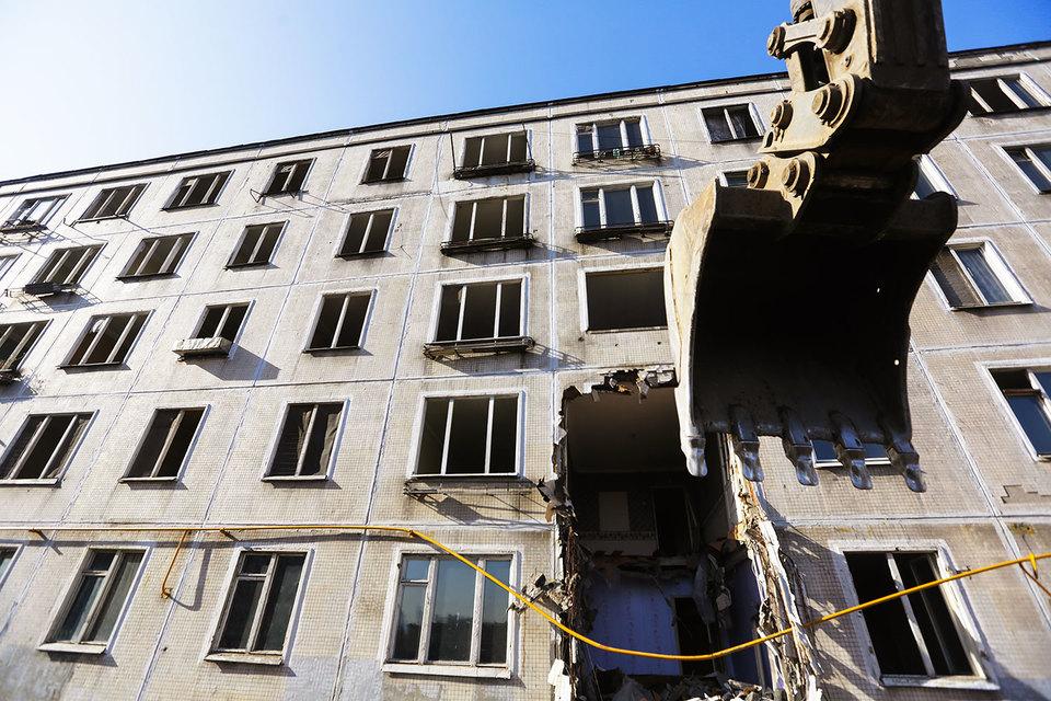 Новая программа сноса пятиэтажек в столицеРФ коснется 8 тыс. домов