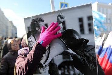 Борис Немцов был застрелен 27 февраля 2015 г. на Большом Москворецком мосту
