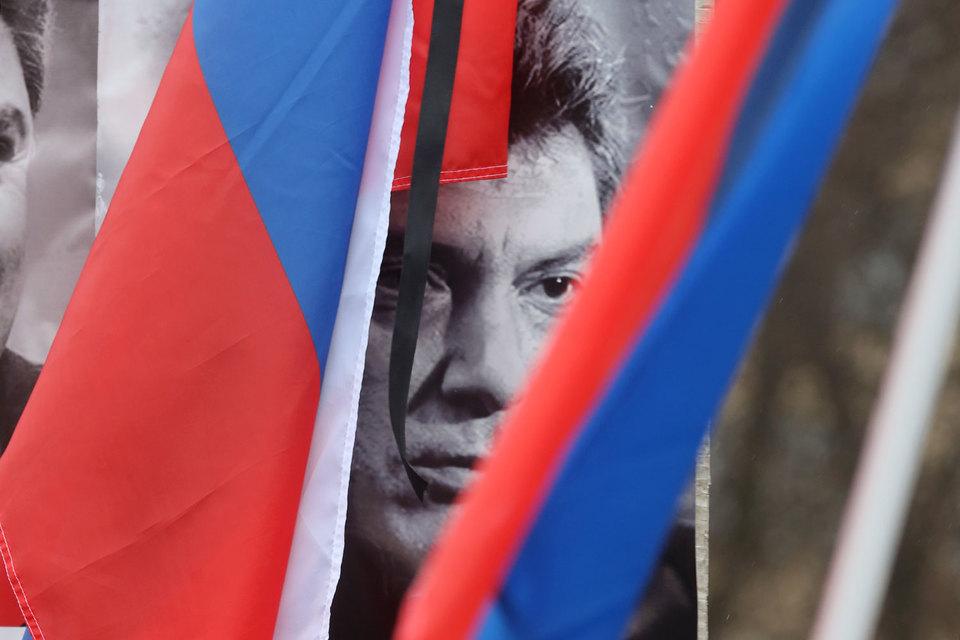 Касьянову плеснули зеленкой намарше памяти Немцова в столицеРФ