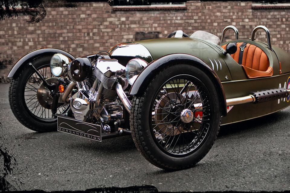Трицикл ThreeWheeler – детище Morgan Motor Company